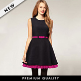 ♥ Formal Work Dress ♥ Pink Belted Dress