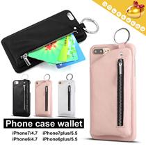 【予約】【送料無料】Apple携帯ケースとウォレット/3色/カード/お金/収納できて/便利で使いやすいiPhone6-iPhone7plus pouch