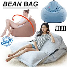 【 BeanBag 】Sofa Premium Quality Bean Bag Chair Cosy Soft Cushioning Bedding / Floor Chair/ Sofa /Bed
