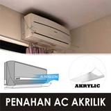 Penahan AC Akrilik - tebal 3mm