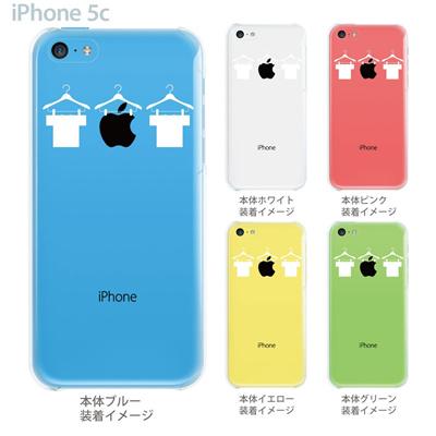 【iPhone5c】【iPhone5c ケース】【iPhone5c カバー】【iPhone ケース】【クリア カバー】【スマホケース】【クリアケース】【イラスト】【クリアーアーツ】【Tシャツとアップルマーク】 06-ip5cp-ca0005の画像