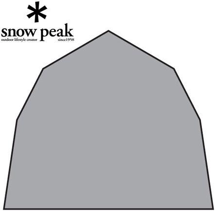 【クリックで詳細表示】スノーピーク(snowpeak) ランドステーションインナールーム グランドシート TP-800IR-1 【グランドシート/マット】