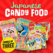 [12.12 Special $12 Bundle of 3] Japanese Candy Food