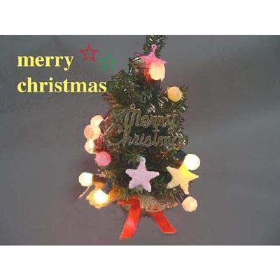 クリスマスツリーレッド ほんのりクリスマスを演出の画像