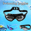 Up To 5、1 Shipping Fee▶Anti-UV swimming goggles◀GCB GCC-Fully adjustable strap suitable for both youth and adults/ 3 styles available