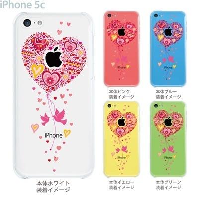 【iPhone5c】【iPhone5c ケース】【iPhone5c カバー】【ケース】【カバー】【スマホケース】【クリアケース】【クリアーアーツ】【ハート】 09-ip5c-th0007の画像