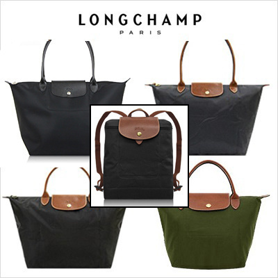 Free Shipping LONGCHAMP Le pliage Folding Tote Bag (S) (M) (L