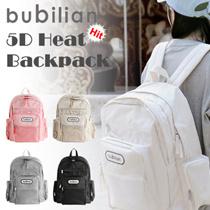 [BUBILIAN] 5D HEAT BACKPACK / 5つの色 / 韓国ストリートブランド/韓国と日本のベストセラーバッグ