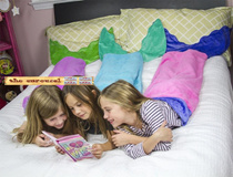 Mermaid / Shark tail blanket fleece blanket