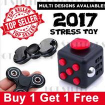 💋BUY1 GET FREE 1💋 EDC  FIDGET  HAND SPINNER / Fidget cube Original  MATT FEEL★Stress Toy★ SG