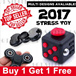 💋BUY1 GET FREE 1💋 EDC  FIDGET  HAND SPINNER / Fidget cube Original  MATT FEEL★Stress Toy★ SG