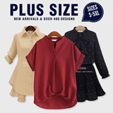 [29st August NEW ARRIVALS] Plus Size Collection /Dress /Blouse/ Skirt/Midi Skirts /T-Shirts Plus Size S to 6XL Over 300 Designs