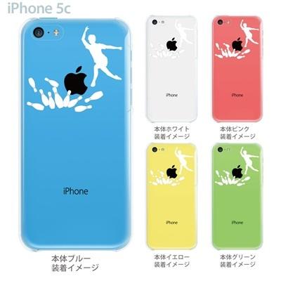 【iPhone5c】【iPhone5c ケース】【iPhone5c カバー】【ケース】【カバー】【スマホケース】【クリアケース】【クリアーアーツ】【ボーリング】 06-ip5cp-ca0018の画像