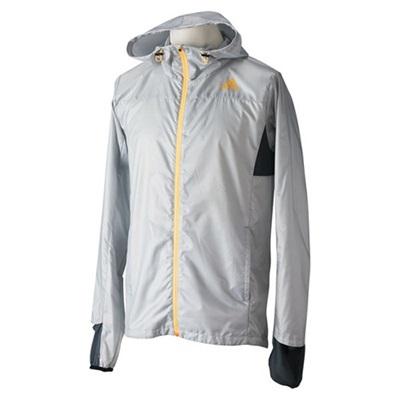 ◆即納◆アディダス(adidas) M RANGI ウインドジャケット ITV04 M39669 クリアGRY 【セール ランニングウェア ジョギング ブレーカー トレーニング メンズ】の画像