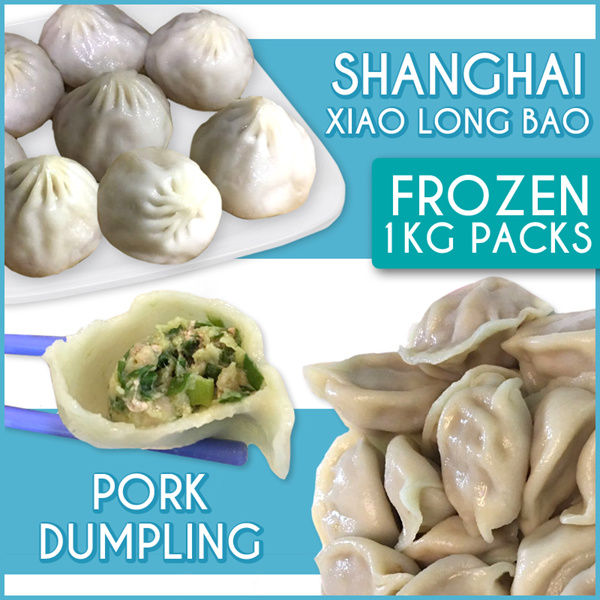 8 Flavours to Choose! Shanghai Xiao Long Bao N Pork Dumplings! 1Kg Packs! Buy 2 get free delivery! Deals for only S$39.9 instead of S$0