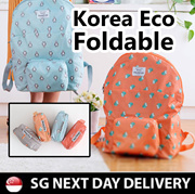 [KOREA ECO FOLDABLE ]★★LIGHTWEIGHT★★BACKPACK/ SHOULDER BAG