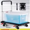 MIC 1001 Platform Foldable Trolley Hand Truck Capacity 137kg