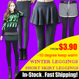 2015 ★Winter Leggings Collection★-10 degree keep warm★K-POP STAR Fashion SKIRT Leggings★Women pant
