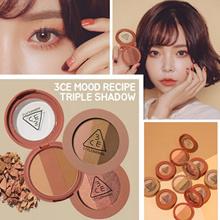 韓国コスメ3ceムードレシピトリプルシャドウ 3CE MOOD RECIPE TRIPLE SHADOW