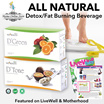 【Best Seller】DTone DGreen【ALL NATURAL Slimming/Detox Beverage】【Made from 100% Natural Fruit Enzymes】【Proven 100% Guaranteed Effective】【No Rebounce】【No Side Effect】【Sold worldwide 10yrs+】
