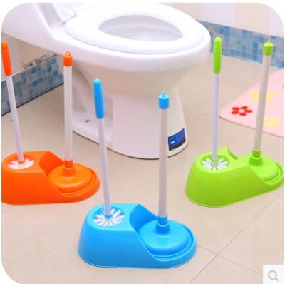 qoo10 creative suite toilet plunger suction toilet dredge long handled toile furniture deco. Black Bedroom Furniture Sets. Home Design Ideas