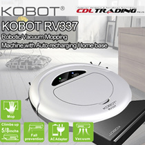 [Special Price for Qoo10 Super Sale!!!]KOBOT RV337 Robotic Vacuum  Mopping Machine with Auto-recharging Home base[High End Model] iBo t/ iRobot [1 Year Local Warranty!!! ]