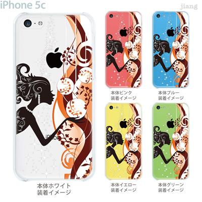 【iPhone5c】【iPhone5c ケース】【iPhone5c カバー】【iPhone カバー】【クリア ケース】【スマホケース】【クリアケース】【イラスト】【クリアーアーツ】【Clear Arts】【妖精】【天使】【フェアリー】 01-ip5c-zec019の画像
