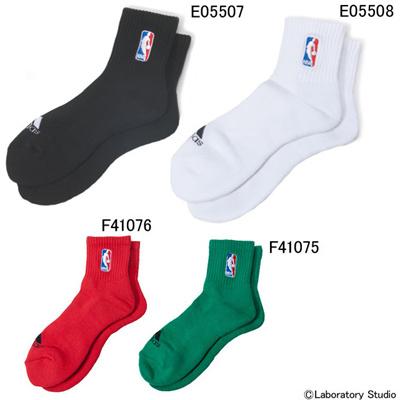 アディダス (adidas) NBA アンクルソックス M9868 [分類:バスケットボール ソックス メンズ・ユニセックス]の画像