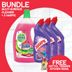[RB] [FREE GIFT + PROMO BUNDLE!!!]]  Dettol x Harpic bundle deal [Clean for the Summer]