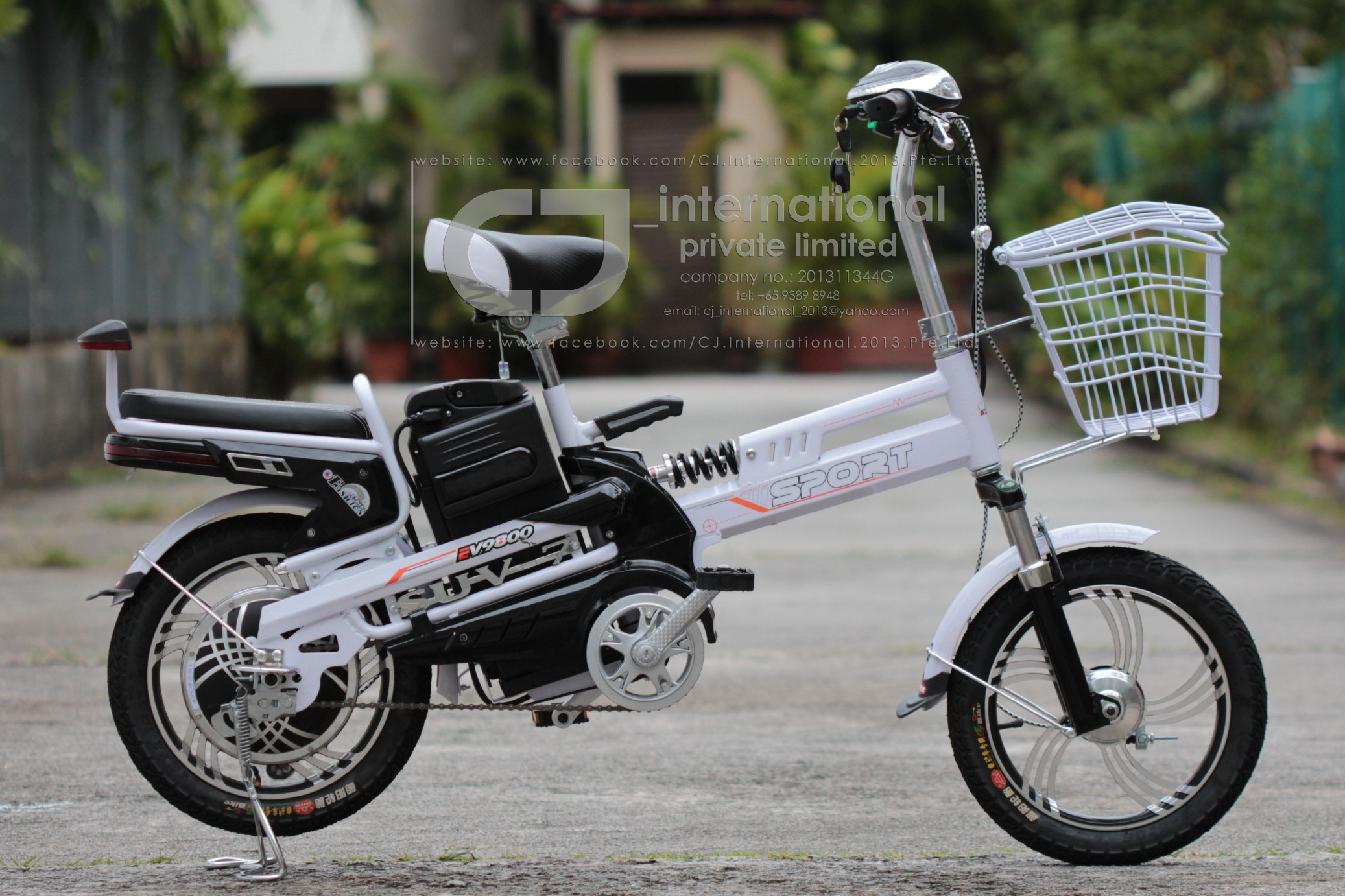 Inch Electric Bicycle Model Suv Brand New Sports