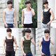 Hot Sale Summer Fashion Tank Tops Men Singlets Sleeveless Shirt Solid color Tank Tops T-shirt(M-XXL)