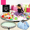Toy Storage Bag/Play Mats/Baby/Kids/Children/Outdoor Mat/Waterproofing/Senses play/Paints/Block Toy/Park/Picnic/Camping/Made In Korea/50cm~140cm