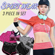 3 pcs Yoga Set / Sports Set / Running Attire Lowest price Runing set sports bra+pants+T-shirt  3pcs