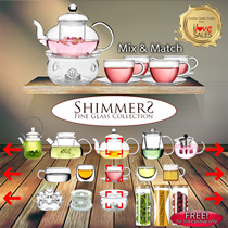 Teapot Set - Mix and Match your Perfect Teapot Set - FREE Warmer and Tea Leaves Container(STORE PICKUP)