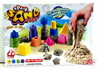 SPACE SAND TOYS100% SAFE FOR KIDS PLAY INDOOR OR OUT NEVER DRY!FUN TO SHAPEEASY TO MOLDRICH MODELINGNON STICK IN HANDNON STICK MOULDSAND WEIGHT IS 450G
