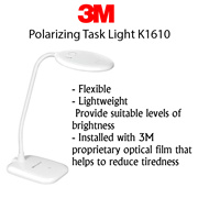 【3M】Polarizing Task Light K1610 (Helps to reduce glare and provide suitable levels of brightness)