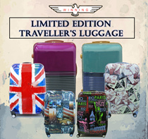 ★WINNING TRAVELLER LUGGAGE★ 20/24/28 INCH IN 10 DIFFERENT LIMITED EDITION DESIGNS. 8 WHEELS SPINNER LUGGAGE AND ONLY LIMITED STOCKS!!
