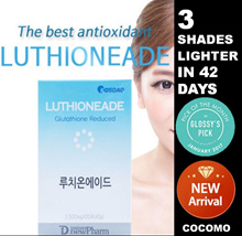 ❤COMBINE COUPON❤【LUTHIONEADE】❤EDIBLE POWDER BASED INJECTIONS❤KOREA CELEBRITY WHITENING❤