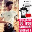 [GhostRepublic]ユニセックスTシャツ/レディースパンツ/3部ショートパンツ/男女兼用/カジュアル/カップルTシャツ/メンズファッション/レディースファッション