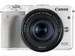 【カートクーポン使えます】Canon ミラーレス一眼カメラ EOS M3 ダブルズームキット(ホワイト)