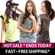 ►HOT SALE* ENDS TODAY ►NEW ARRIVALS ►MADE IN KOREA ►FREE SHIPPING*  ►Korean Women Casual Dress Tops Leggings Pants Shorts Skirts Blouse T-Shirts Mini Midi Long Lace Plus size