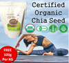 ★1+1 SPECIAL★ 550g+550g★ USDA JAPAN AGRI STANDARD★  Certified Organic Chia Seed ! BEST QUALITY!