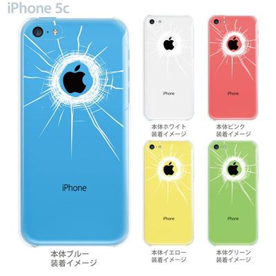 【iPhone5c】【iPhone5c ケース】【iPhone5c カバー】【ケース】【カバー】【スマホケース】【クリアケース】【クリアーアーツ】【狙われたアップルマーク】 06-ip5cp-ca0028の画像