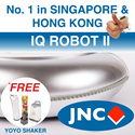 [CNY SPECIAL]  3 in 1: JNC IQ Robot Vacuum Cleaner. VACUUMS. SWEEPS. MOPS. Singapore-based. Quality Assured.