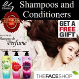 [$9.90 TIME SALE] Korea Top Selling Hair Care Elastine Perfume Shampoos and Conditioners