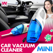 Car Vacuum Cleaner /MTD/12V 60W Mini Vacuum Cleaner 900 mbar/Mini blue white/powerful/Strong suction/Rechargeable/ Portable size/ Large capacity/【M18】