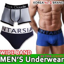 ★Exclusive KOREA No.1 BRAND for Men /Wide Band Stylish Underwear Cheapest MEN Underwear M-XXL