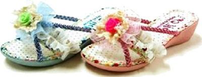 (A倉庫)【DH.CP】DH1905 子供ウェッジサンダル キラキラサンダル 子供サンダルの画像
