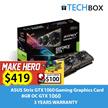 ASUS Strix GTX1060 OC Graphics Card | 6GB GDDR5 OC | GTX1060-DC206GB | 3 YEARS WARRANTY