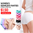 ?? Seamless Panties / Bkini Panties ?? Ice silk / No Sewing / 10Type Collection? Seamless? Time Sale
